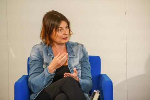 Radka Denemarková beim 1. Europäischen Autoren-Gipfel