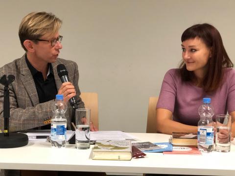 Kateřina Tučková im Gespräch mit Martin Krafl